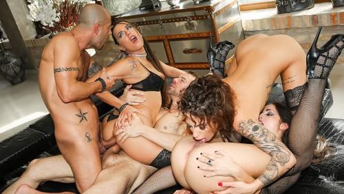RoccoSiffredi.com - Lauren Minardi, Arteya, Dolly Diore (Rocco Siffredi Hard Academy, Scene 4) cover