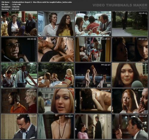Schulmadchen-Report 1: Was Eltern nicht fur moglich halten (Better Quality) (1970) screencaps