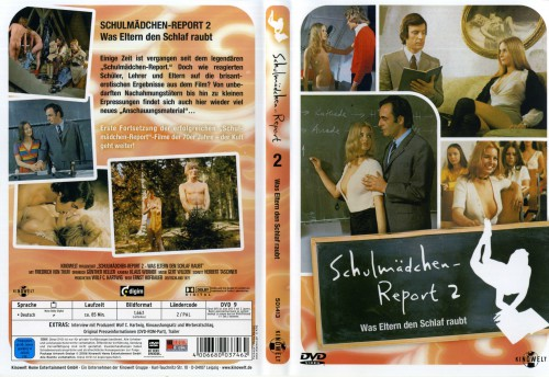 Schulmadchen-Report 2: Was Eltern den Schlaf raubt (Better Quality) (1971) cover