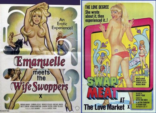 Swap Meat at the Love Market (1973) cover