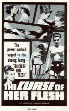The Curse of Her Flesh (1968) cover
