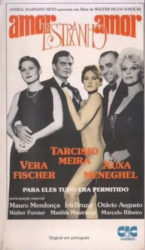 Amor Estranho Amor (1982) cover