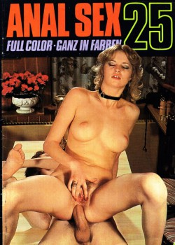 Anal Sex 25 (Magazine) cover