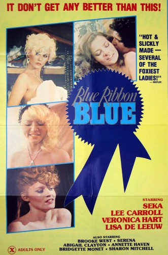 Blue Ribbon Blue (1985) cover
