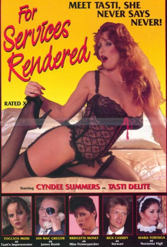 For Services Rendered (1984) cover