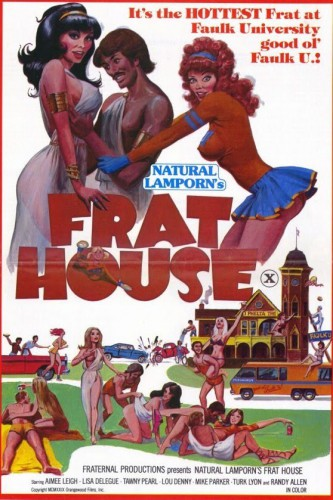 Frat House (1983) cover