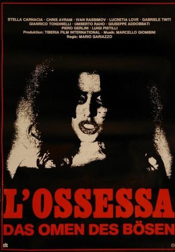 L'ossessa (1974) cover