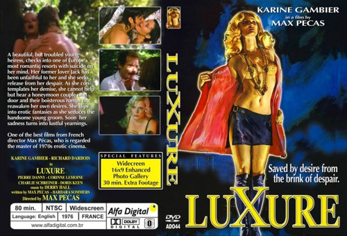 Luxure (1976) cover