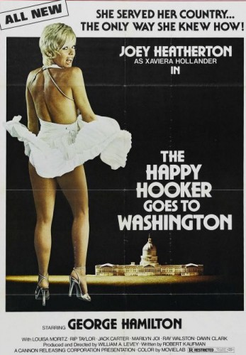 The Happy Hooker Goes to Washington (1977) cover