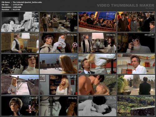 The Lickerish Quartet (Better Quality) (1970) screencaps