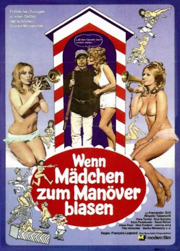 Wenn Madchen zum Manover blasen (1975) cover