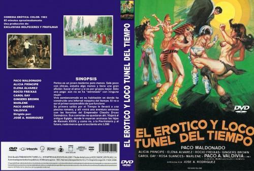 El erotico y loco tunel del tiempo (Better Quality) (1983) cover