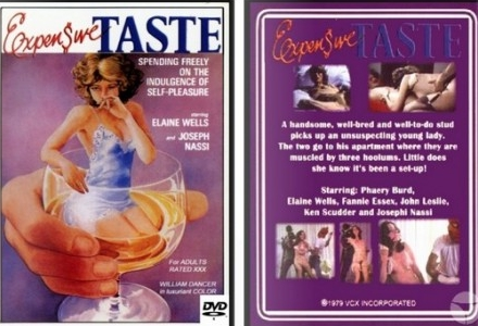 Expensive Tastes (1978) cover