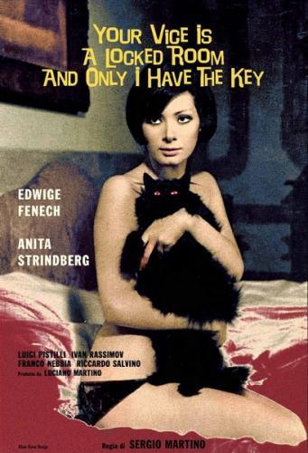 Il tuo vizio e una stanza chiusa e solo io ne ho la chiave (1972) cover
