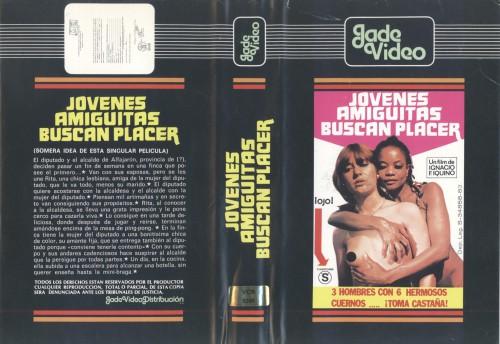 Jovenes amiguitas buscan placer (1982) cover