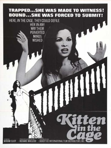 Kitten in a Cage (1968) cover