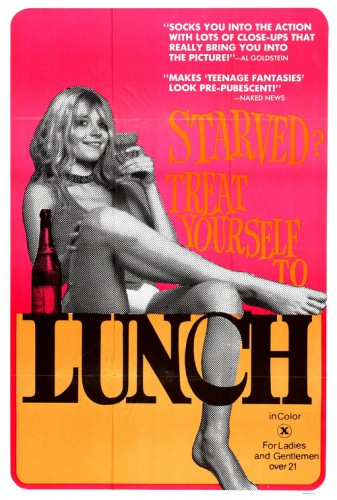 Lunch (1972) cover