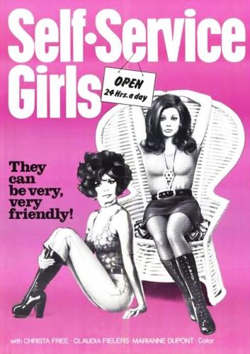 Madchen, die sich selbst bedienen (1976) cover
