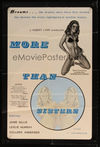 More Than Sisters (1979) cover