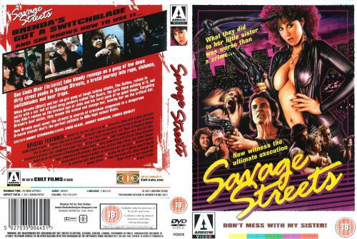 Savage Streets (1984) cover