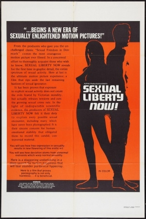 Sexual Liberty Now (1971) cover