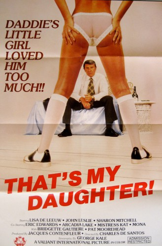 That's My Daughter (1982) cover