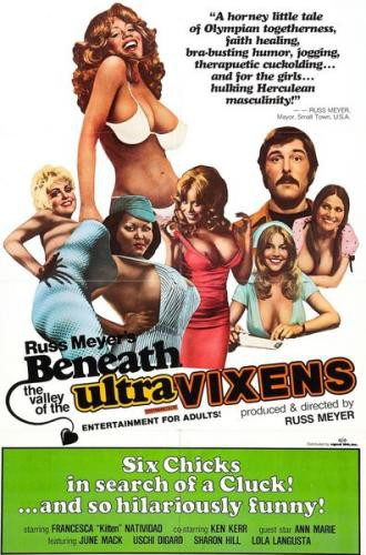 Beneath the Valley of the Ultra-Vixens (1979) cover
