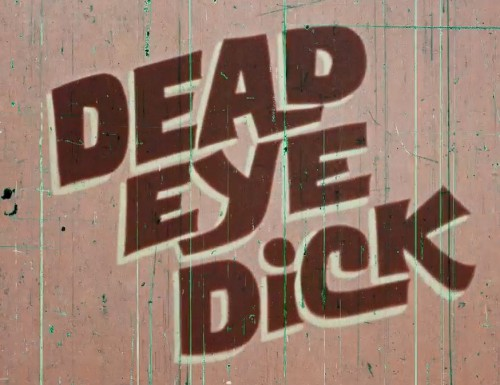 Dead Eye Dick (1970) cover