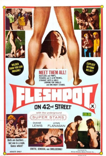 Fleshpot On 42nd Street (1972) cover