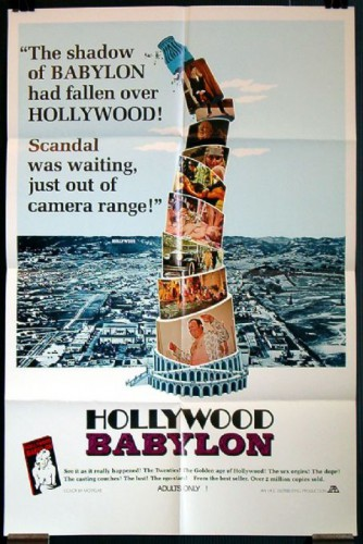 Hollywood Babylon (Better Quality) (1972) cover