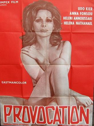 Provocation (1972) cover