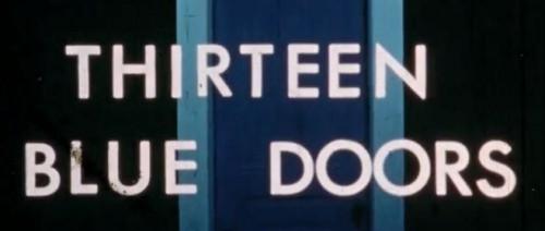 Thirteen Blue Doors (1971) cover