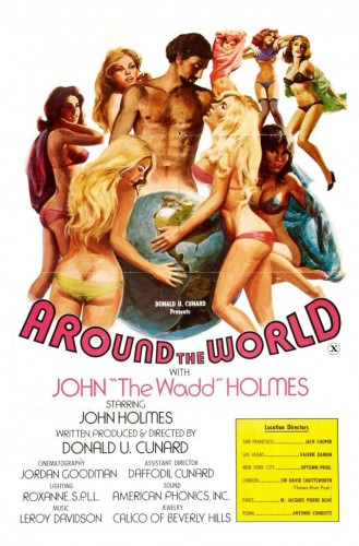 Around The World With John 'The Wadd' Holmes (1975) cover