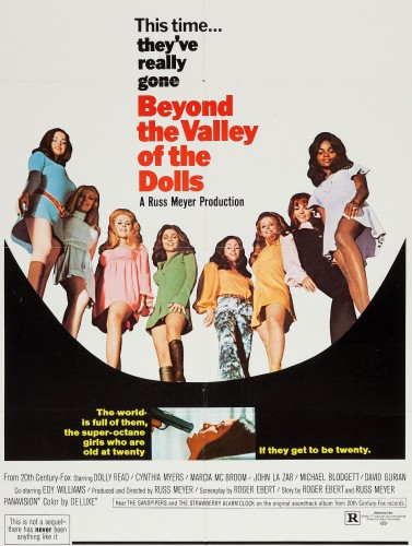 Beyond the Valley of the Dolls (Better Quality) (1970) cover
