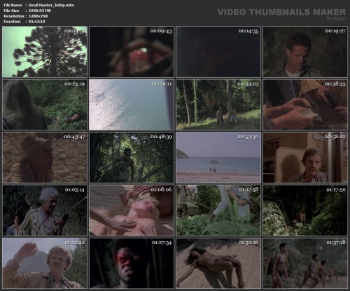 Devil Hunter (BDRip) (1980) screencaps