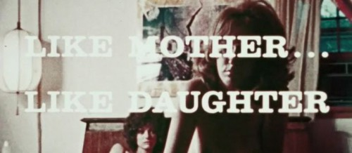 Like Mother... Like Daughter (1972) cover