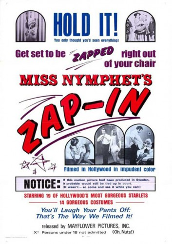 Miss Nymphet's Zap-in (1970) cover