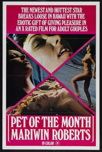 Pet Of The Month (1978) cover