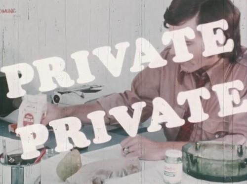 Private Private (1971) cover