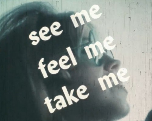 See Me, Feel Me, Take Me (1971) cover