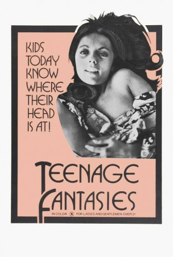 Teen-age Fantasies: An Adult Documentary (1971) cover