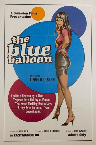 The Blue Balloon (1973) cover