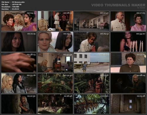 99 Women (1969) screencaps
