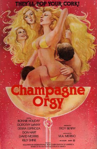 Champagne Orgy (HDRip) (1978) cover