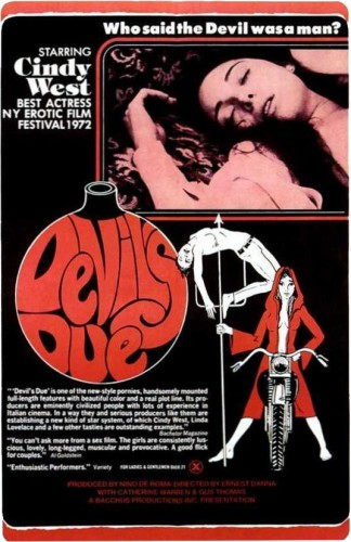 Devil's Due (1973) cover