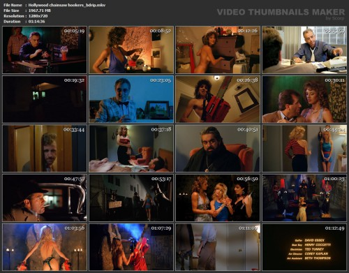 Hollywood chainsaw hookers (BDRip) (1988) screencaps