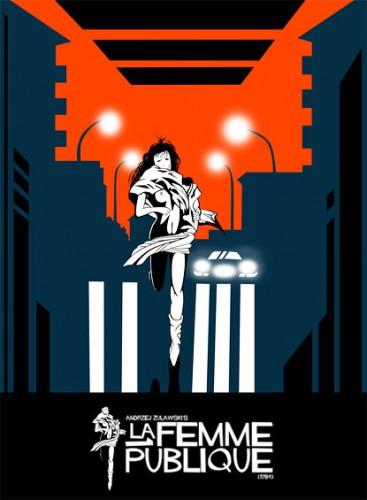 La femme publique (Better Quality) (1984) cover