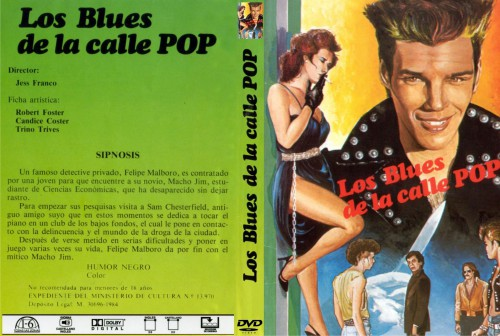 Los blues de la calle pop (1983) cover