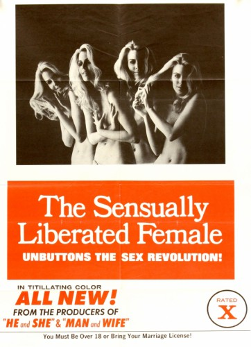Sensually Liberated Female (1970) cover