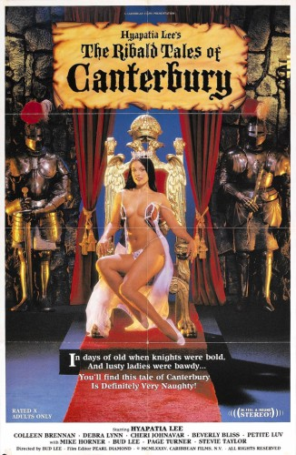 The Ribald Tales Of Canterbury (1985) cover